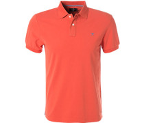 Polo-Shirt Regular Fit Baumwoll-Piqué