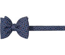Krawatte Schleife Seide hellblau