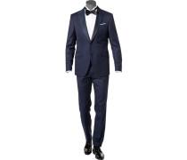 Anzug Smoking Horace-Bask, Slim Fit, Schurwolle