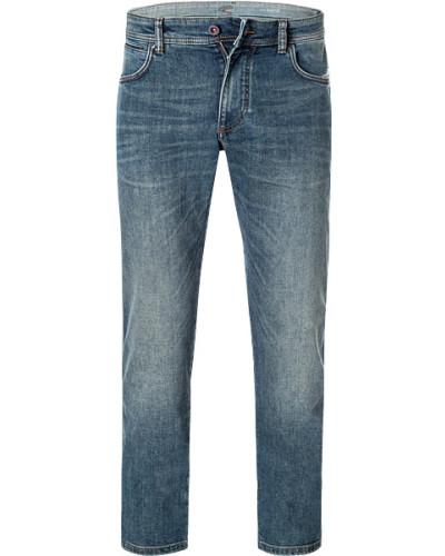 Jeans, Modern Fit, Baumwoll-Stretch, capri