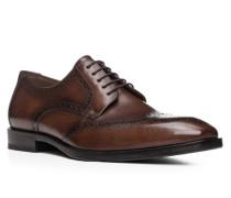 Herren Schuhe LUCIEN, Kalbleder, braun