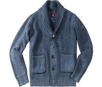 Herren strellson Sportswear Cardigan Iven-J Baumwolle jeans