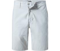 Hose Shorts Baumwolle beige