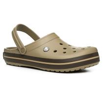 Herren Schuhe Pantoletten, Gummi, beige