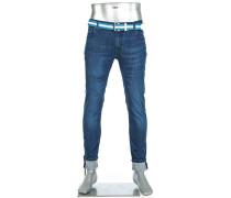 Jeans Bike Slim Fit Bio Baumwoll-Stretch 11oz