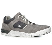 Herren Schuhe Sneaker Veloursleder-Textil grau