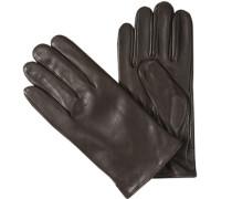 Herren Handschuhe Schafnappa Fleecefutter