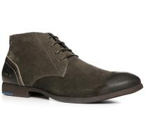 Herren Schuhe Desert Boots Veloursleder greige braun,blau