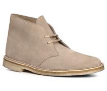 Herren Schuhe Desert Boots, Veloursleder, sand beige
