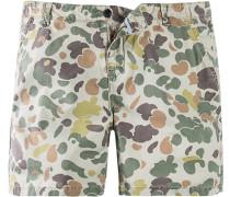 Herren Hose Bermuda Ripon Slim Fit Baumwolle camouflage beige