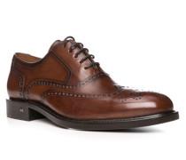 Herren Schuhe LEONIS, Kalbleder, braun
