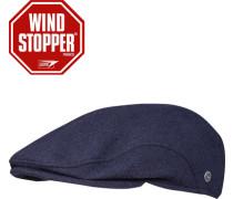 Schiebermütze Wolle Windstopper® navy