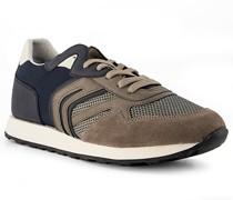 Schuhe Sneaker Leder -navy