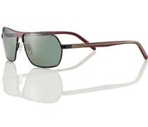 Herren Brillen strellson Premium Sonnenbrille Metall-Kunststoff bordeaux-grün rot