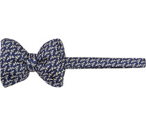 Herren Krawatte Schleife Seide dunkel