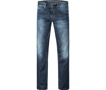 Jeans Oregon Slim Fit Baumwoll-Stretch tinten