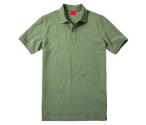 Herren Polo-Shirt Baumwoll-Piqué oliv