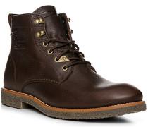 Herren Schuhe Schnürstiefel, Leder GORE-TEX®, dunkelbraun