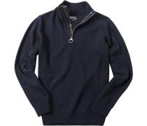 Herren Pullover Toyer, Wolle, dunkelblau grün