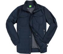 Herren Fieldjacket, Big&Tall, Microfaser Thermore®, navy blau