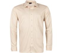 Herren Hemd Jersey beige