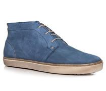 Herren Desert Boots Nubukleder jeansblau