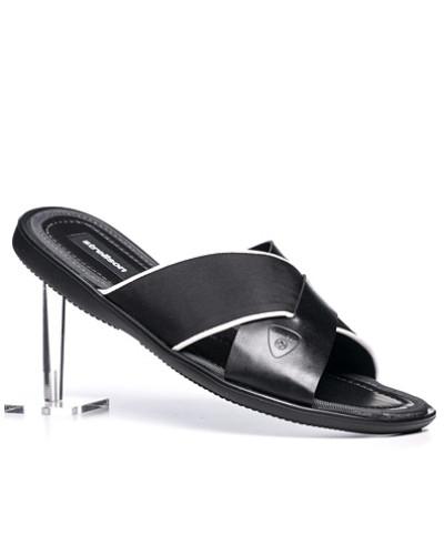 Strellson Herren Schuhe Sandalen, Leder