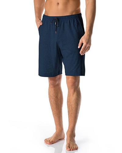 Schlafanzug Pyjamashorts, Baumwolle, dunkel