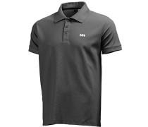 Herren Polo- Shirt Tactel anthrazit grau
