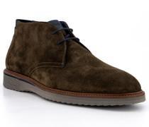 Schuhe Desert Boots Veloursleder extraweit grün
