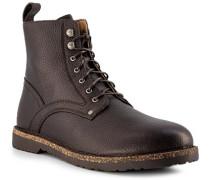 Schuhe Schnürstiefel Leder