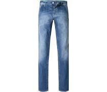 Herren Jeans Baumwoll-Stretch 9,5oz denim