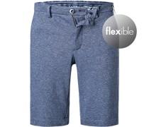 Bermudas Jersey jeans meliert