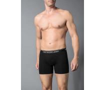 Herren Unterwäsche Trunk, Baumwoll-Stretch, schwarz