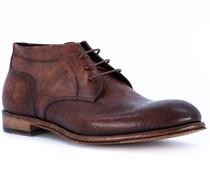 Schuhe Desert Boots Leder testa di moro