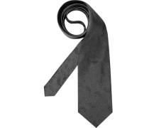 Herren Krawatte grau