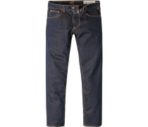 Herren Jeans Madison Modern Fit Baumwolle dunkel