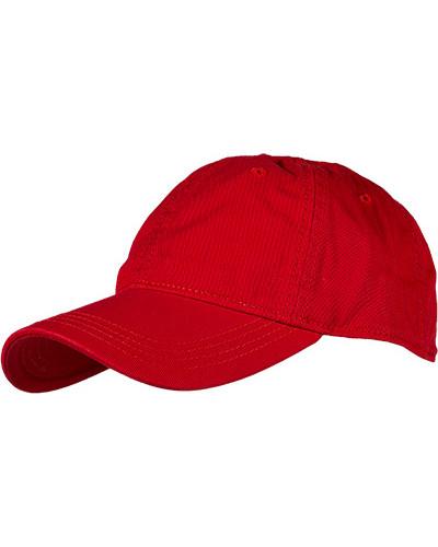 Herren Cap Baumwolle rot