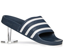 Herren Schuhe Sandalen Gummi dunkelblau
