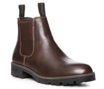 Herren Schuhe Chelsea Boots, Glattbecker Gore-Tex®, kastanienbraun