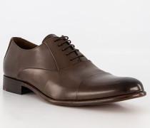 Schuhe Oxford Salto Kalbleder dunkel