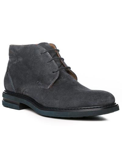 Schuhe Desert Boots, Veloursleder, nacht