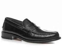 Herren Schuhe Loafer Leder schwarz