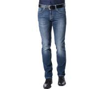 Herren Jeans Baumwoll-Stretch jenas