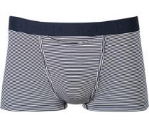 Herren Unterwäsche Trunk Modal navy gestreift blau