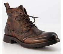 Schuhe Schnürboots Kalbleder