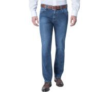 Herren Jeans Contemporary Fit Baumwoll-Stretch denim blau