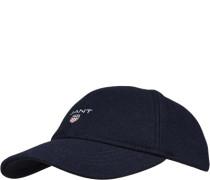 Herren Cap, Wolle, marineblau