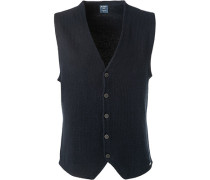Pullover Strickweste, Modern Fit, Baumwolle
