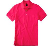 Herren Polo-Shirt Baumwoll-Piqué pink